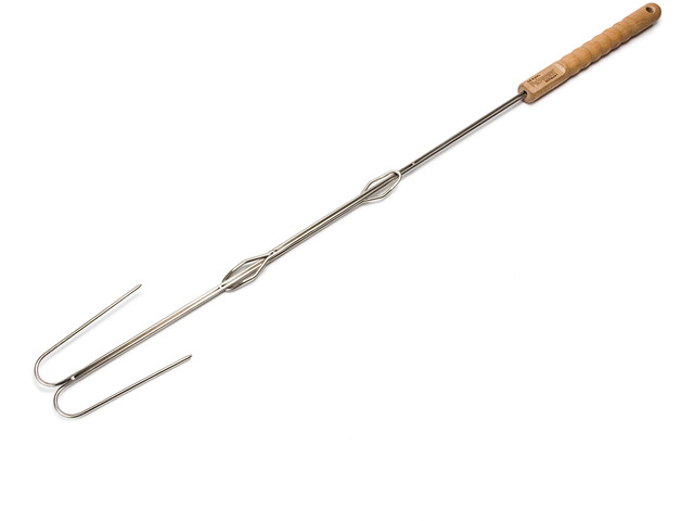 Petromax ls2 Campfire Skewer with two Bent Prongs 2 Pieces